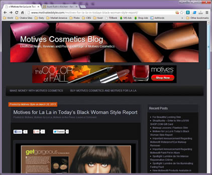 Motives Cosmetics Blog